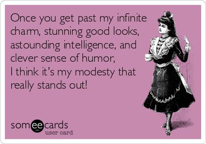 modest